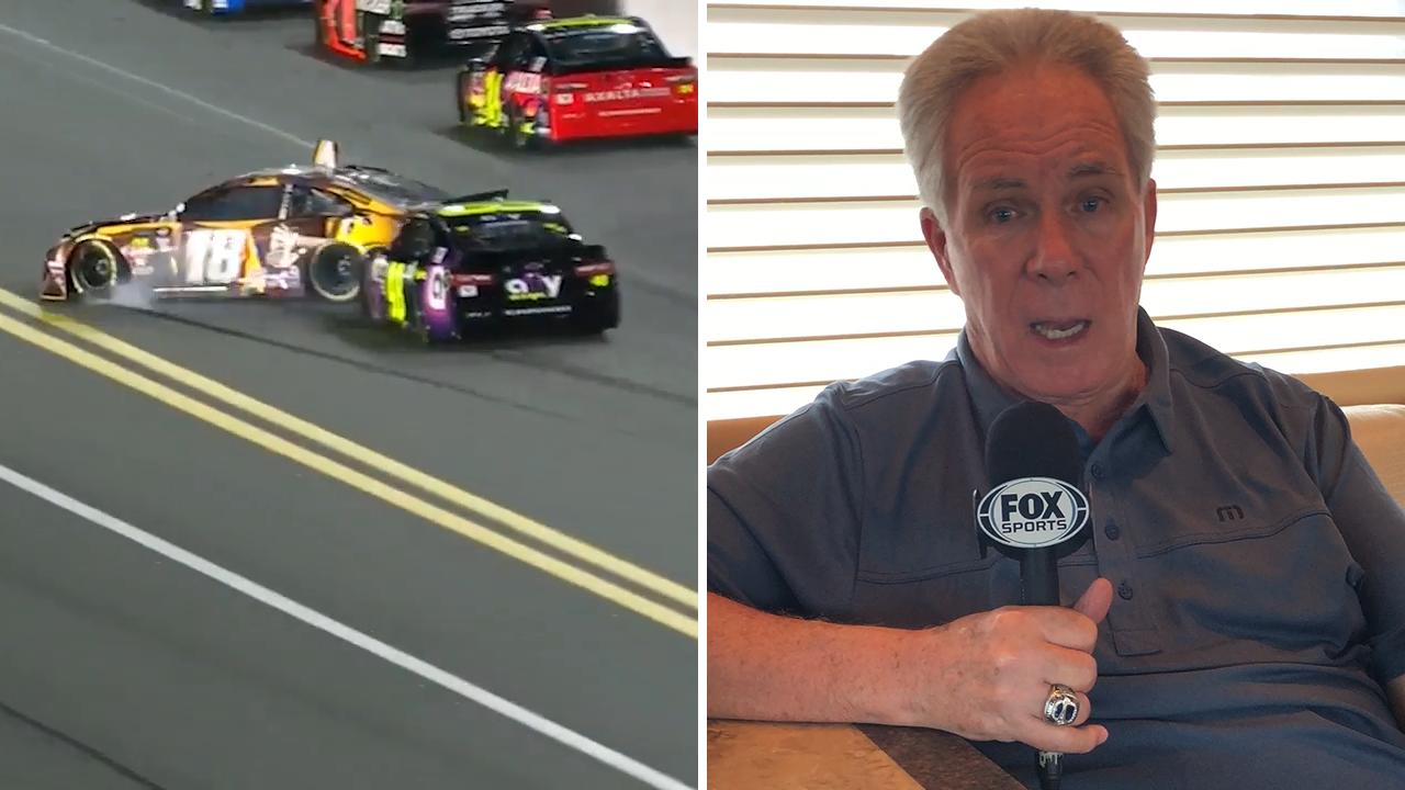 Darrell Waltrip 'upset' with Jimmie Johnson's wrecks | 2019 DAYTONA 500 |  FOX NASCAR