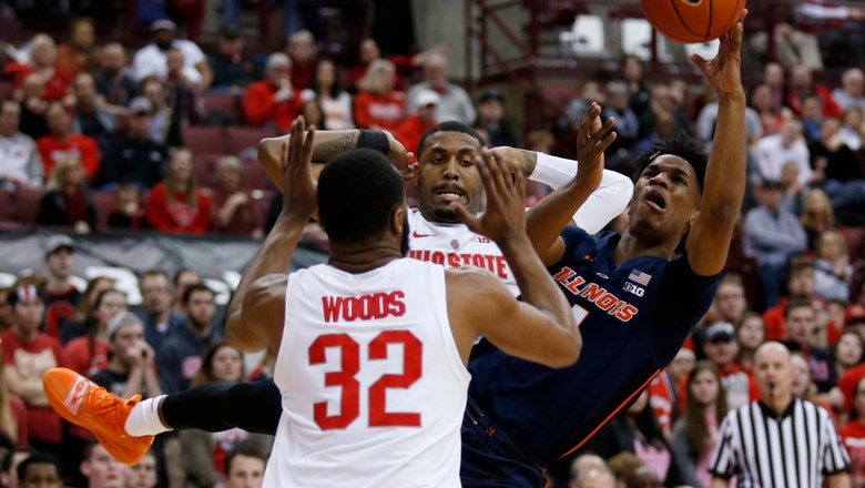 Illinois tops Ohio State 63-56 for first road win