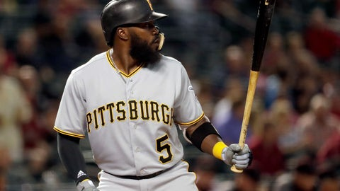 <p>               FILE - In this June 11, 2018, file photo, Pittsburgh Pirates' Josh Harrison bats against the Arizona Diamondbacks during the first inning of a baseball game in Phoenix.A person familiar with the negotiations said free agent Harrison has agreed to a one-year deal with the Detroit Tigers. The person spoke on condition of anonymity Wednesday, Feb. 20, because the deal was still subject to a successful physical. (AP Photo/Matt York, File)             </p>