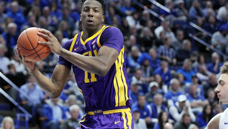 LSU beats Kentucky on last-second tip-in