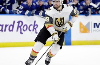 Tuch scores in shootout, Golden Knights edge Lightning 3-2