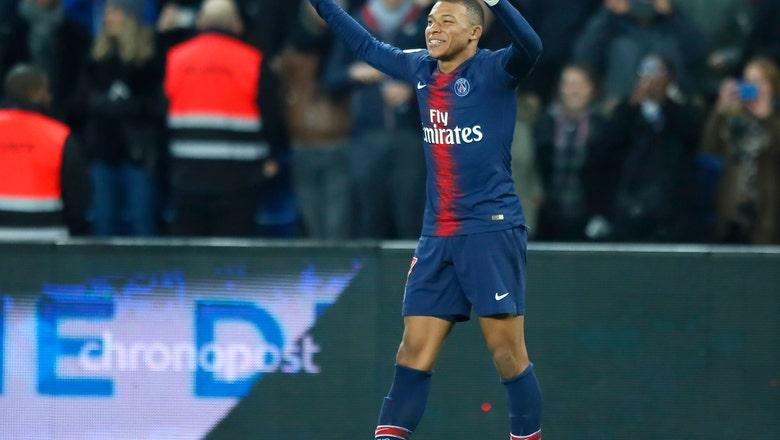 Mbappe scores 20th league goal as PSG routs Montpellier 5-1