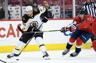 Bruins shut out Capitals to end 14-game skid vs. Washington
