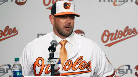 <p>               FILE - In this Dec. 17, 2018, file photo, new Baltimore Orioles manager Brandon Hyde speaks at an introductory news conference in Baltimore. After getting the introductions out of the way, Hyde will use spring training to cobble together a 25-man roster for a rebuilding team coming off a 115-loss season. (AP Photo/Patrick Semansky, File)             </p>