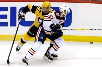 Crosby, Penguins trip up McDavid, Oilers 3-1