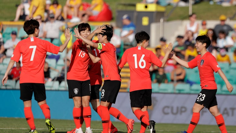 South Korea beats Argentina 5-0 in Cup of Nations opener