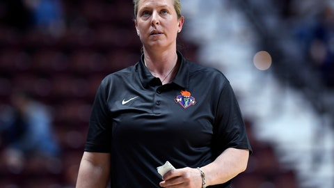 "<p>               FILE - In this May 8, 2018, file photo, New York Liberty coach Katie Smith looks up during the team's preseason WNBA basketball game against the Los Angeles Sparks in Uncasville, Conn. It's been five weeks since the Liberty were sold to an investment group led by Brooklyn Nets minority owner Joseph Tsai, and the front office has been working hard to get the team ready to play in a few months when the WNBA season begins. ""This is an exciting time for the franchise. Great new ownership; the draft is coming in April; the free agent signing period is underway,"" Smith said. ""I've been in touch with our current players and with various free agents. There is genuine enthusiasm surrounding the future of the Liberty."" (AP Photo/Jessica Hill, File)             </p>"