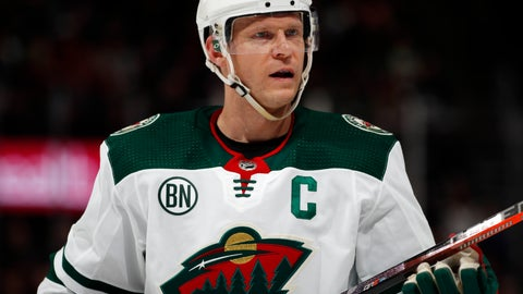 <p>               FILE - In this Jan. 23, 2019, file photo, Minnesota Wild center Mikko Koivu questions a call with a referee in the second period of an NHL hockey game against the Colorado Avalanche, in Denver. Wild captain Koivu says he is not concerned that his season-ending knee injury will prevent him from resuming his career at age 36 next season. (AP Photo/David Zalubowski, File)             </p>