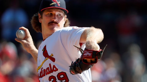 <p>               FILE - In this Sept. 23, 2018, file photo, St. Louis Cardinals starting pitcher Miles Mikolas throws during the first inning of a baseball game against the San Francisco Giants in St. Louis. Mikolas is open to discussing a long-term deal with the Cardinals rather than wait to go on the open market after the season. The 30-year-old right-hander returned to the major leagues last year after three seasons in Japan, agreeing to a $15.5 million, two-year contract with the Cardinals. (AP Photo/Jeff Roberson, File)             </p>