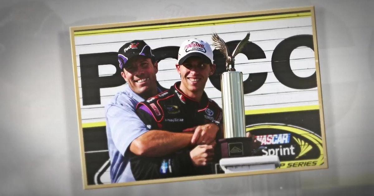 The NASCAR family says goodbye to the late J.D. Gibbs