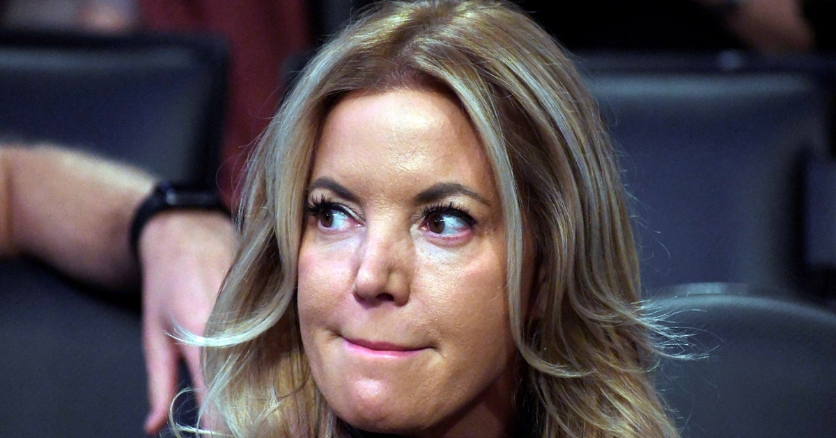 Colin Cowherd explains why Jeanie Buss is the one who steers the Lakers' ship — not LeBron