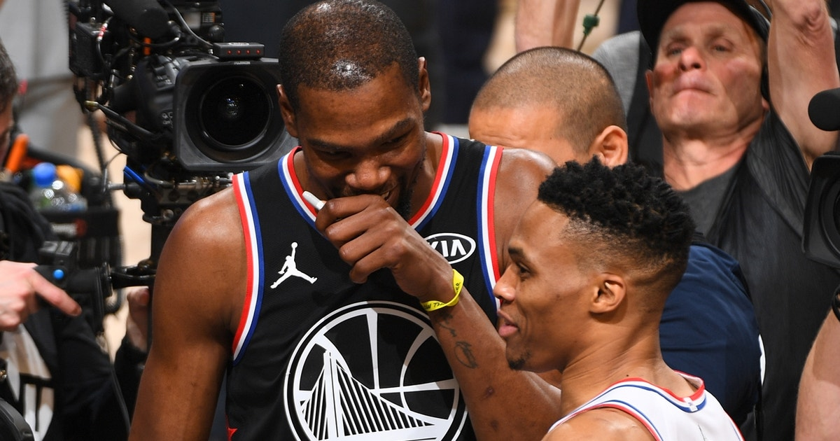 3d9fc712461 Colin Cowherd  The Kevin Durant and Russell Westbrook split was  as bad as  a divorce gets in sports