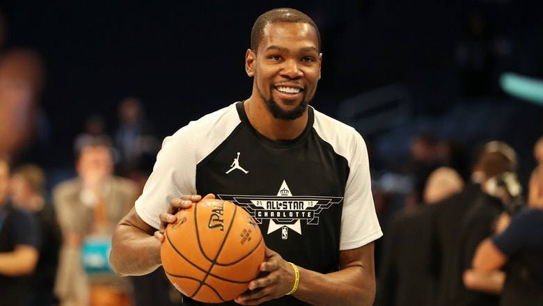 Colin Cowherd: Kevin Durant doesn't need to leave Golden State to surpass LeBron