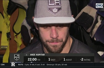 Anze Kopitar frustrated, takes responsibility after LA Kings loss
