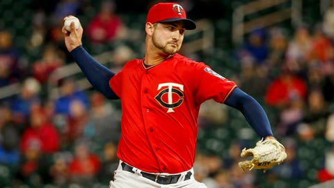 Chase De Jong, Twins reliever (↓ DOWN)
