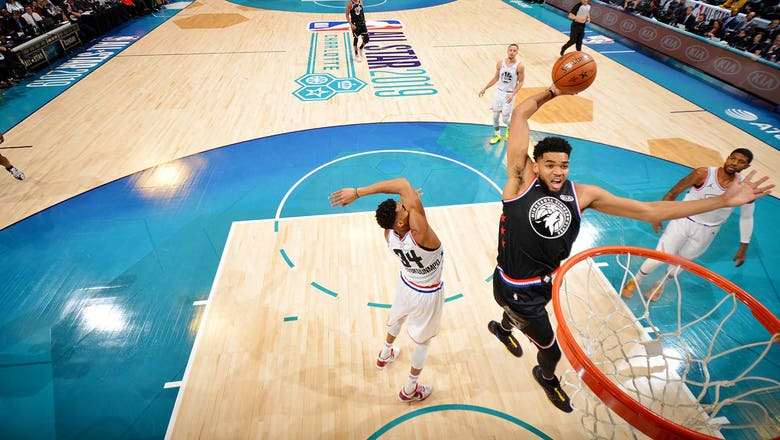 PHOTOS: Karl-Anthony Towns at 2019 NBA All-Star Game
