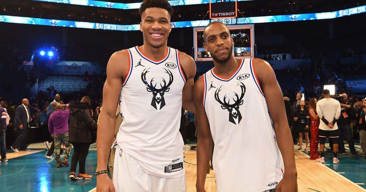 ad57d4b9 PHOTOS: Bucks' Antetokounmpo, Middleton at 2019 NBA All-Star Game | FOX  Sports
