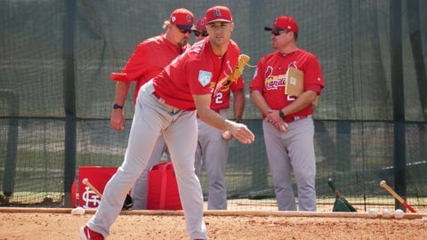Jack Flaherty, Cardinals spring training, Jupiter, Florida, Feb. 21, 2019.