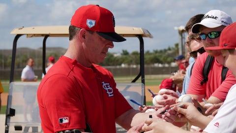 Jim Edmonds, Cardinals spring training, Jupiter, Florida, Feb. 21, 2019.