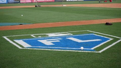 Cardinals spring training generic Florida logo at Roger Dean Stadium, Cardinals spring training, Jupiter, Florida