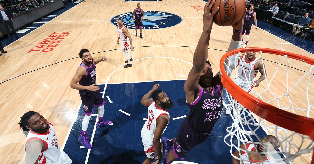 d7501fba646f Josh Okogie sparks Timberwolves to 121-111 win over Rockets