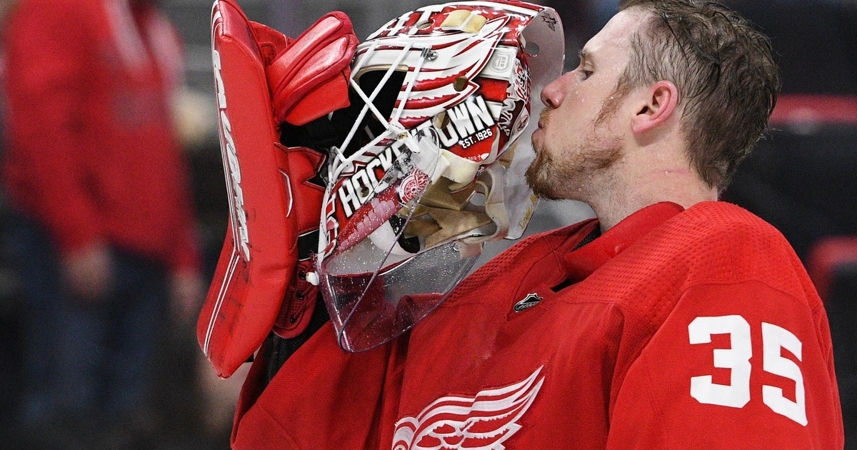 44d723a0fda Red Wings sign Jimmy Howard to one-year extension