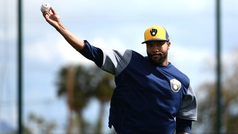 Jay Jackson, Brewers reliever (↑ UP)