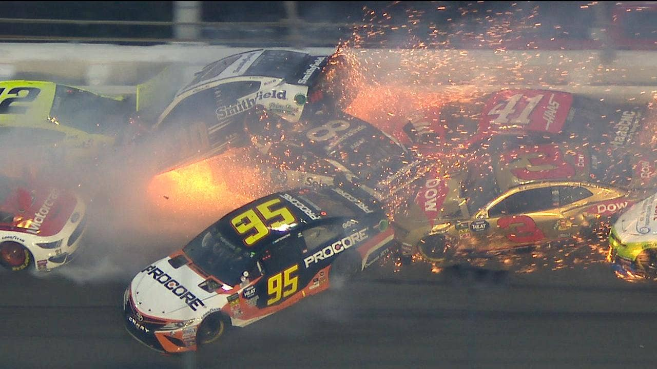 Massive Daytona 500 crash takes out 21 cars in 'The Big One'