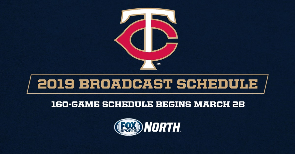 Fox Sports North Announces 2019 Twins Telecast Schedule Fox Sports