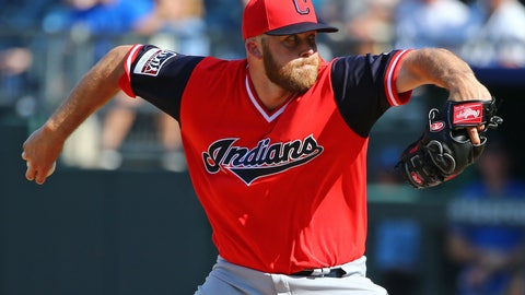 Cody Allen, Right-handed reliever