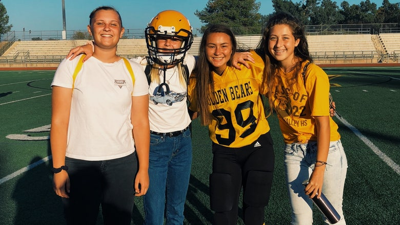 Alyssa Turay out to inspire and encourage other girls to play football