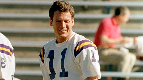 Ex-Vikings QB Wade Wilson dead at 60