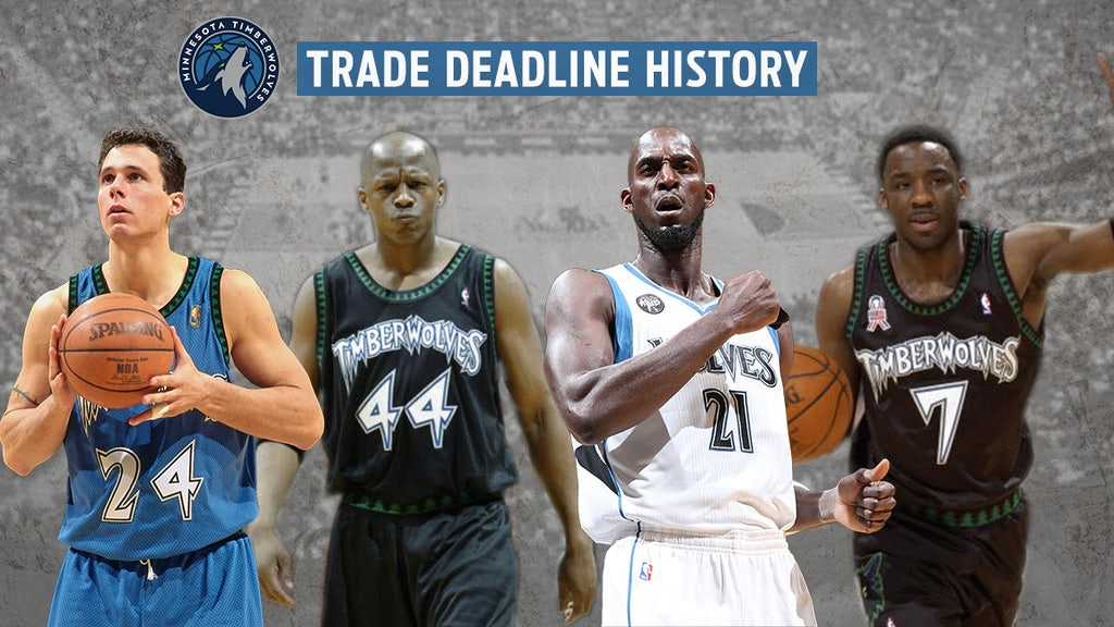 History Of Minnesota Timberwolves Moves At The Nba Trade Deadline