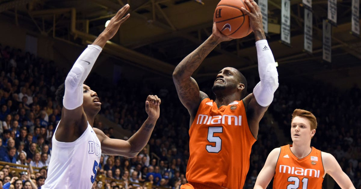 Duke Blue Devils 87 Miami Hurricanes 57