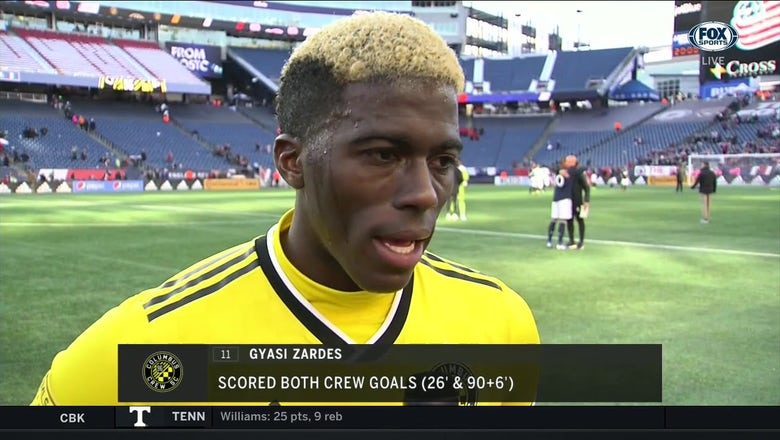 Gyasi Zardes says Columbus will keep progressing every week