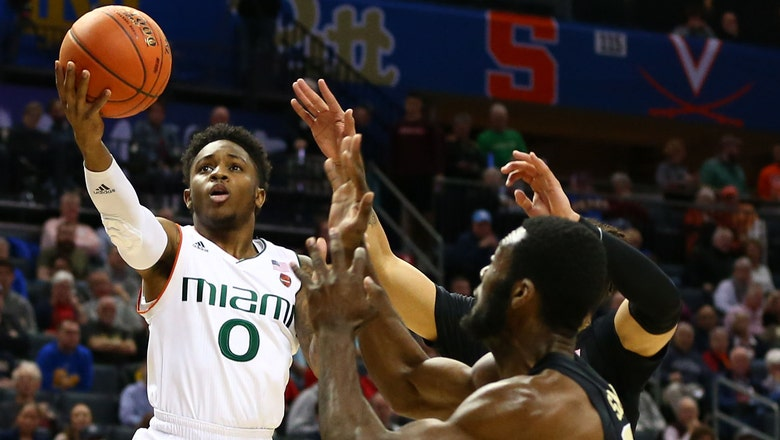 Four score in double figures as Miami takes care of Wake Forest in opening round of ACC tournament