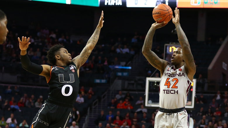 End of the road: Miami's season comes to a close with loss to Virginia Tech in 2nd round of ACC tourney