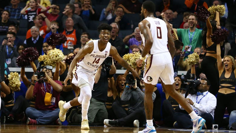Terance Mann knocks down falling runner in OT to lift FSU over Virginia Tech in ACC Tourney