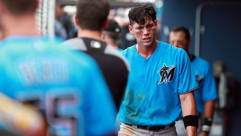 Peter O'Brien notches 5 RBI in Marlins' win over Nationals