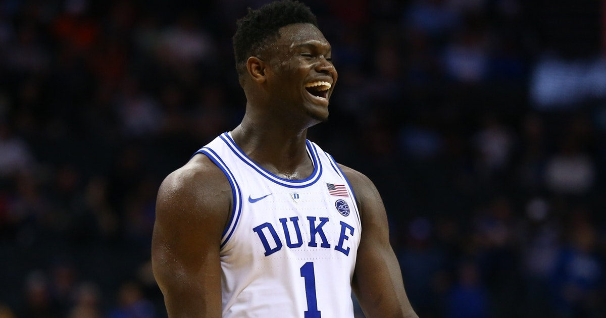 78dc524691a 'It's the year of Zion Williamson': Nick Wright picks Duke to win the NCAA  Tournament | FOX Sports