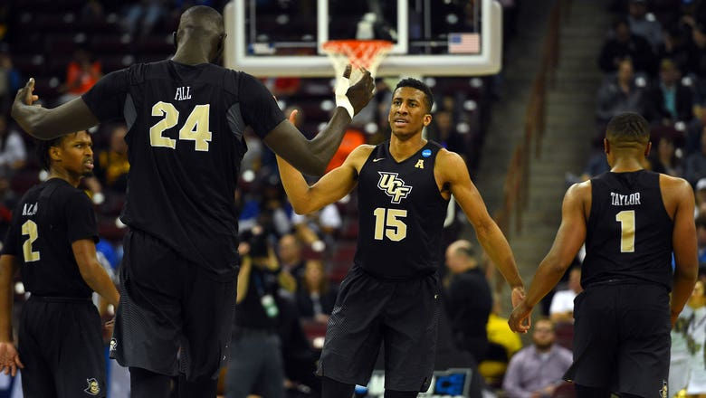 Tacko Fall powers UCF past VCU for first NCAA Tournament win in school history