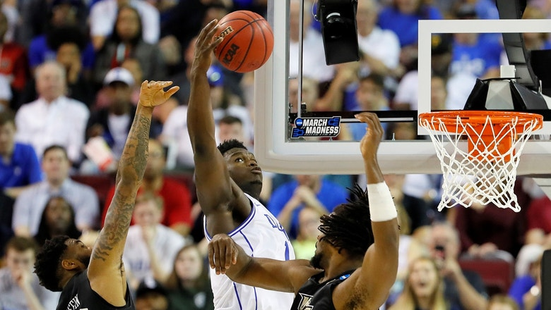 Nick Wright evaluates Zion Williamson's clutch performance as Duke survives UCF