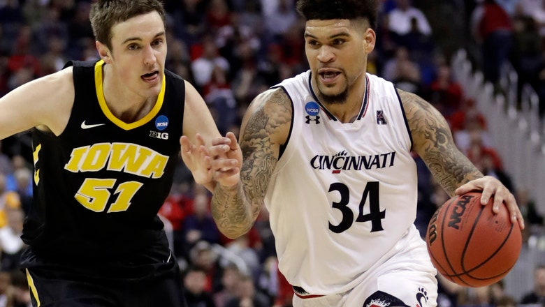 Iowa keeps Big Ten perfect, rallies 79-72 over Cincinnati