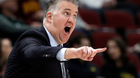 <p>               FILE - In this Friday, March 15, 2019, file photo, Purdue head coach Matt Painter directs his top team during the first half of an NCAA college basketball game against Minnesota in the quarterfinals of the Big Ten Conference tournament in Chicago. In a landscape where one-and-done or two-and-done players have become all the rage, Painter has largely ignored the trend by building Purdue's program with players who expect to stay four years and cherish a degree. (AP Photo/Nam Y. Huh, File)             </p>