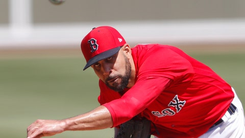 <p>               Boston Red Sox starting pitcher David Price delivers a pitch in the second inning of a spring training baseball game against the Detroit Tigers, Tuesday, March 12, 2019, in Fort Myers, Fla. (AP Photo/John Bazemore)             </p>