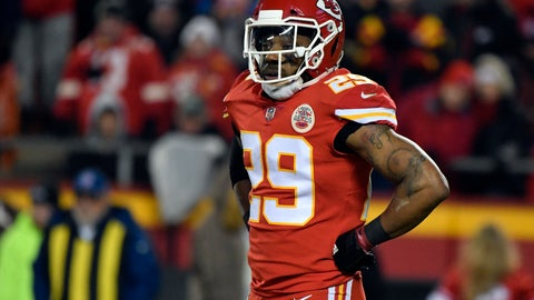 <p>               FILE - In this Dec. 13, 2018, file photo, Kansas City Chiefs defensive back Eric Berry (29) pauses during the first half of an NFL football game against the Los Angeles Chargers in Kansas City, Mo. The Chiefs began free agency by cutting one of their most popular players in strong safety Eric Berry, who was a dynamic presence when he was healthy but had missed significant time throughout his career. (AP Photo/Ed Zurga, File)             </p>