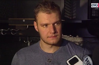 Aleksander Barkov talks about Panthers' defense after win in Boston, finishing season strong