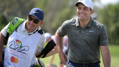 <p>               Francesco Molinari, right, of Italy, leaves the first green after making a putt for birdie during the final round of the Arnold Palmer Invitational golf tournament Sunday, March 10, 2019, in Orlando, Fla. (AP Photo/Phelan M. Ebenhack)             </p>