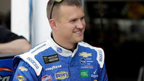 <p>               FILE - This Feb. 15, 2019 file photo shows Ryan Preece during a Daytona 500 auto race practice at Daytona International Speedway in Daytona Beach, Fla. Preece is a rookie struggling to find his rhythm at NASCAR's top level. A breakthrough could come at Martinsville Speedway, the first short track on the schedule and a layout that suits Preece's style. (AP Photo/Chris O'Meara)             </p>