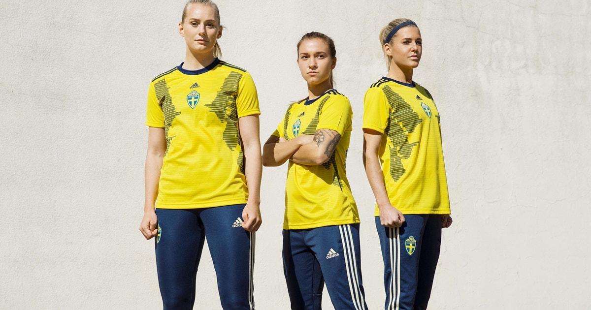 Sweden's world cup kits will honor inspiring women